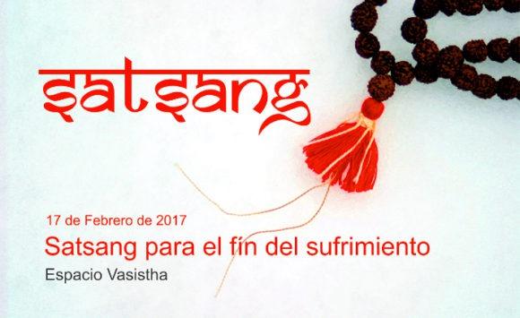 Satsang para el fín del sufrimiento