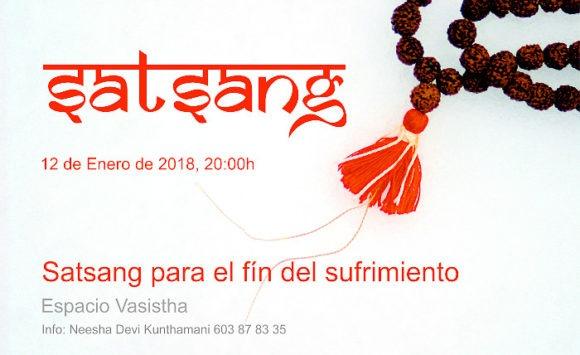 Satsang para la liberación del sufrimiento