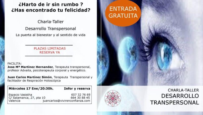 Charla-Taller Desarrollo Transpersonal